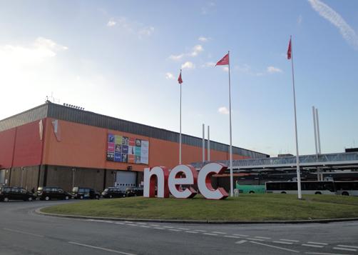スプリングフェアの会場 NECバーミンガム