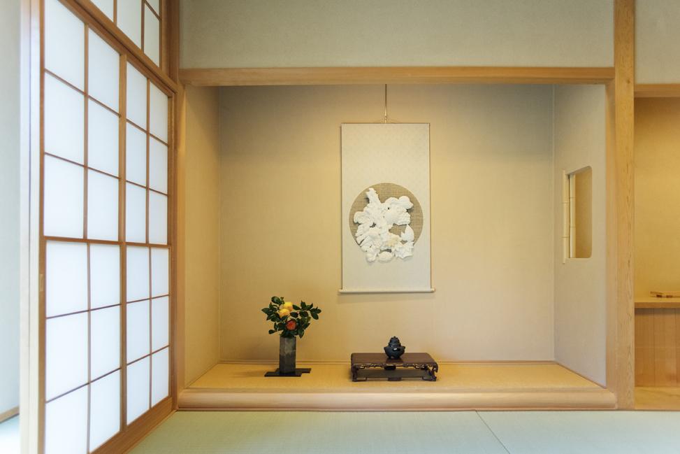 (離れ4室のうち一番大きな部屋「花香」)